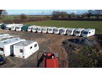 Secure caravan storage -hard standing - totally secure-24hr cctv-staffed site