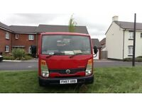 57 nissan cabstar 100,000 fsh 6 month mot 6 month tax immaculate condition twin wheel base £5495