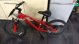 SHOCKWAVE DIRT CHILDS / TEENAGERS UNISEX MOUNTAIN BMX BIKE 6 SPEED