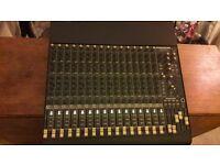 Mackie 1604 VLZ pro Mixing Desk 16 channels