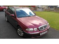 Rover 45 1.4 Olympic, Petrol, year 2000, genuine 72,000 miles.