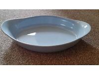 Blue Ceramic Oven Dish