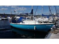 Van de Stadt 28ft Kendra ( yacht fin keel sailing boat) Priced for quick sale