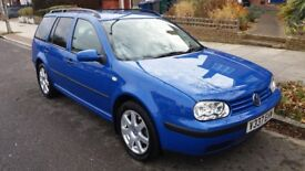 Volkswagen Golf 2.0 petrol estate...well maintained and equipped reliable quality car