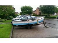 14ft fishing boat for sale 6hp