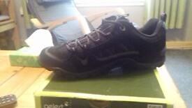 Brand new, still in box Gelert mens/boys hiking shoes