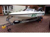 Fletcher Arrowflash Black Max Speedboat