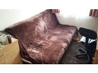 3 Seater Metallic Frame and storage box for Beddinge Lovas IKEA3 Seat Sofa Bed