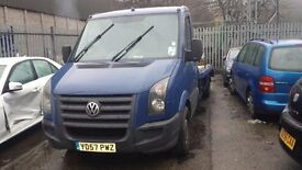 VW CRAFTER CR35 3500KG GROSS WEIGHT RECOVERY TRUCK