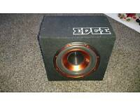 Edge sub built in amp
