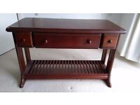Coffee table - restored from old sewing machine table - can deliver