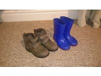 boys shoes size 7, 7.5 clarks