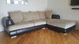 Left hand corner Sofa and chair