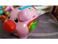 Fisher price piggy bank