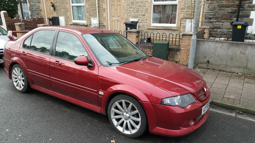 Mg Zs 180 2005 Breaking Repair Modified