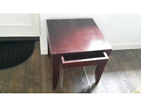 Bedside Table in stylish Indonesian wood