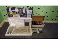 COMMODORE 64: NIGHT MOVES X4 JOYSTICKS 100% WORKING BOTH GAMES INCLUDED PLUS LOADS OF GAMES
