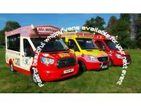 ice cream vans hire for events school fetes and fun days car shows icecream PTA/ PTFA Milton Keynes