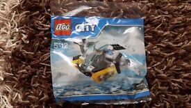 Brand New Lego City Prison Island Helicopter 30346 - Great Christmas Gift Idea