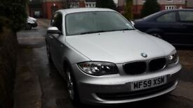 BMW 1 Series 2.0 116d Sport Manual 5dr Silver (2009 - 59 plate)