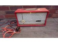 VINTAGE 1960S BAIRD AX1 DANSETTE STYLE RECORD PLAYER POWERED EXTENSION SPEAKER UP CYCLE GC