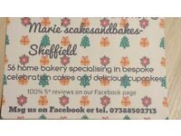 Christmas cakes and more @ Marie'scakesandbakes-Sheffield