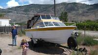 Reinell 26' power boat with trailer, Osoyoos - $3700 (Osoyoos)