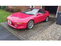 Toyota MR2 Rev 3 Turbo 1993. Great condition, 85925 miles, full service history