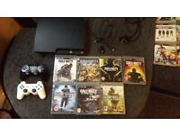Ps3 ,turtle beach headset , two controllers