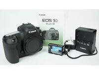 2 x Canon 5D Mk III's for sale (separately/together) - low shutter count