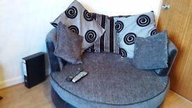 cuddle chair/tv unit