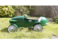 Toy Childs Pedal Car 1930's Le Mans style.