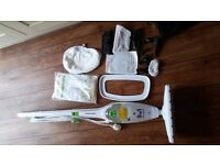 Morphy Richards 9 in 1 Steam Mop and Handheld Steam Cleaner
