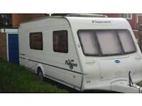 2003 Bailey pageant champagne 4 birth caravan