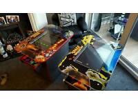 Retro arcade cabinets.newly built.12mths warranty.