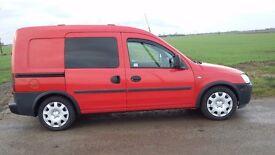 Vauxhall combo crew van for sale
