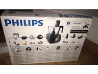 Brand new Phillips food processor with 7 accessories