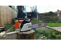 Stihl ms260 professional chainsaw