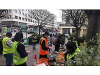 Join us to Feed the Homeless and Support Rough Sleepers