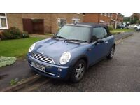 Mini One Convertible - 10 months MOT, well looked after, only 3 lady owners