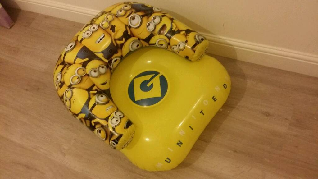 Despicable Me Minions Inflatable Chair for sale
