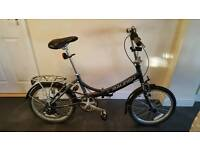 Raleigh Evo 7Sp Fold Away Bicycle
