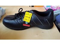Brand New TROJAN safety shoes with a box size 11 UK