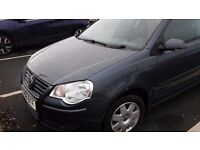 volkswagen polo 1.2 s 2006 reg top of the range