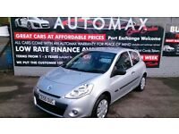 2009 (59) CLEAN RENAULT CLIO 1.1 EXTREME 3 DOOR HATCH SILVER ONLY 52K F/S/H SEPT 28TH MOT CD E/W +