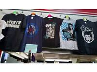 Brand new Rock and Pop Tee-shirts