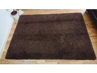 FREE Brown Woolly Rug