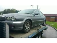 JAGUAR X TYPE 2.0 TDCI BREAKING FOR PARTS