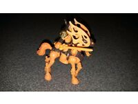 Imaginext skeleton and horse