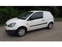 FORD FIESTA DEISEL VAN 2006 LONG MOT DRIVES PERFECT